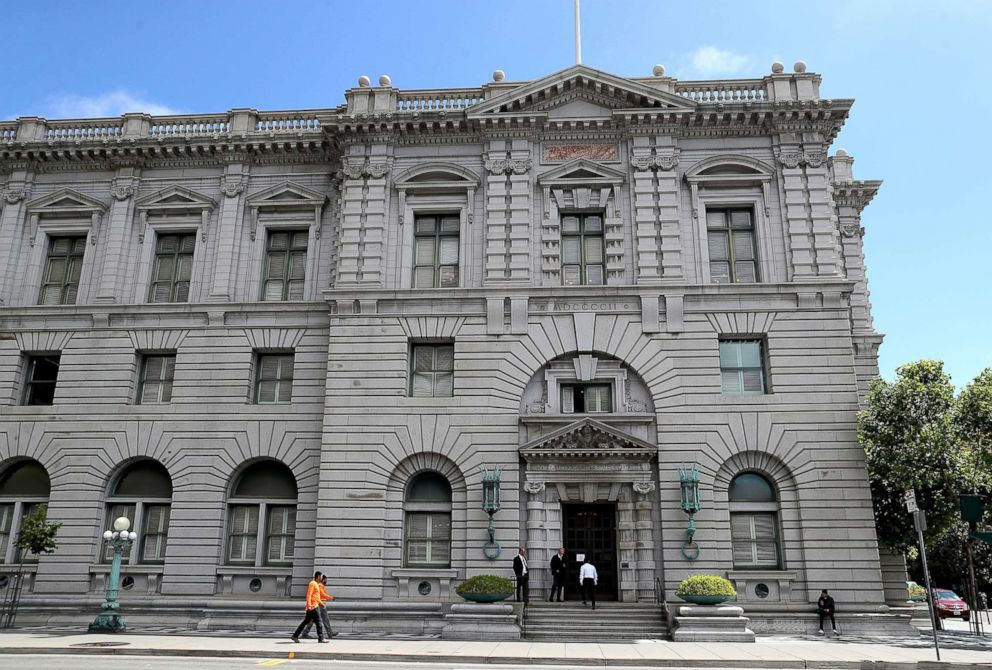 A view of the Ninth U.S. Circuit Court of Appeals , June 12, 2017, in San Francisco.