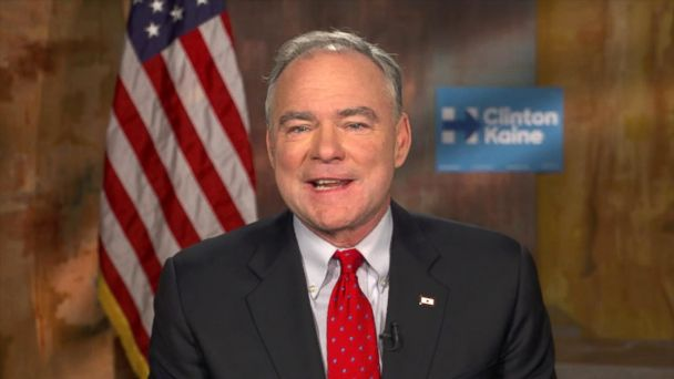 Tim Kaine Eyes 'Checkmate States' in Today's Presidential Election