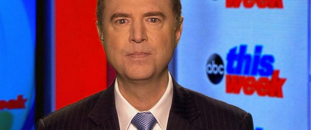PHOTO: Rep. Adam Schiff, the congressman from California who serves on the House Intelligence Committee, on ABC News This Week, March 12, 2017.