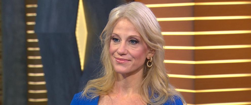 "PHOTO: Kellyanne Conway appeared on ""Good Morning America,"" Jan. 11, 2017."