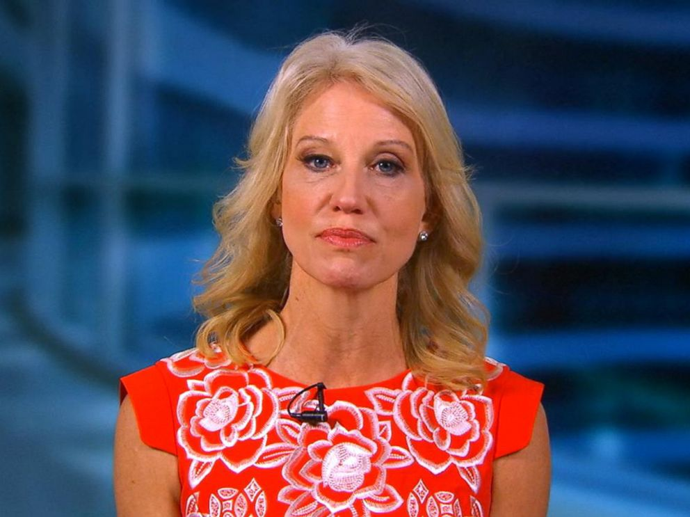 PHOTO: Kellyanne Conway appears on Good Morning America, June 30, 2017.
