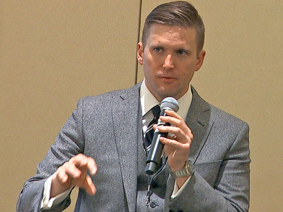 PHOTO: Richard Spencer is president of the alt-right National Policy Institute.