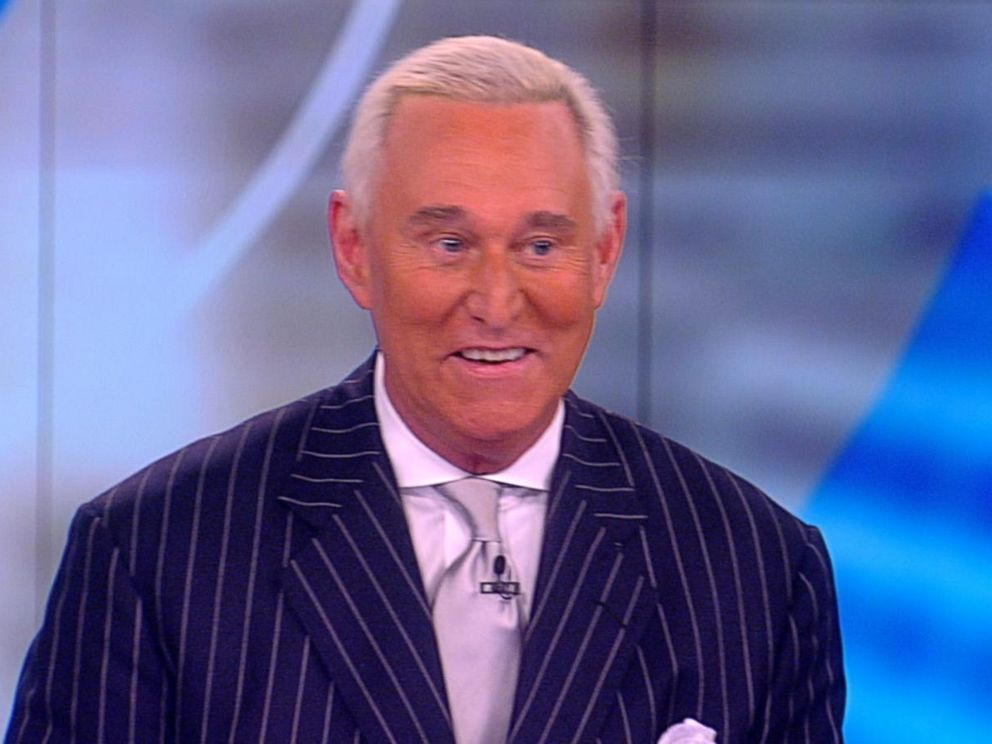 PHOTO: Roger Stone appeared on The View, May 12, 2017.