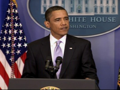 Video of Obama talking about Iran at his press conference.