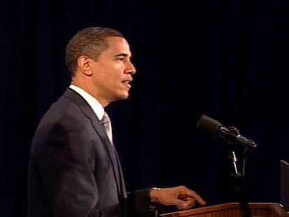 pic of barack obama during press conference in chicago wednesday