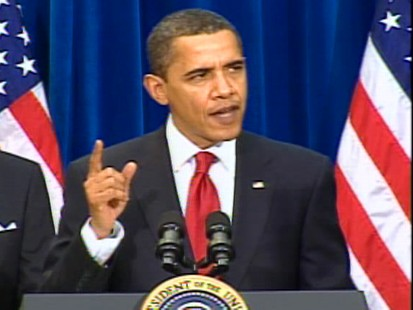 Video of President Barack Obama signing the stimulus bill into law.