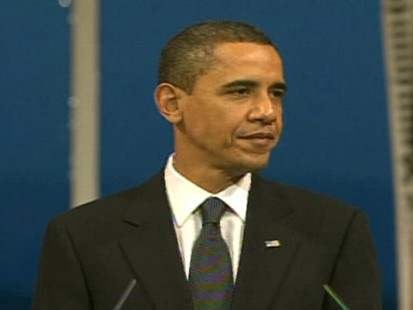 Video of President Obama accepting his Nobel Peace Prize in Oslo.
