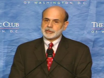Video of Federal Reserve Chair Ben Bernanke on the economy.