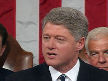 Video highlights of previous presidents State of the Union addresses.