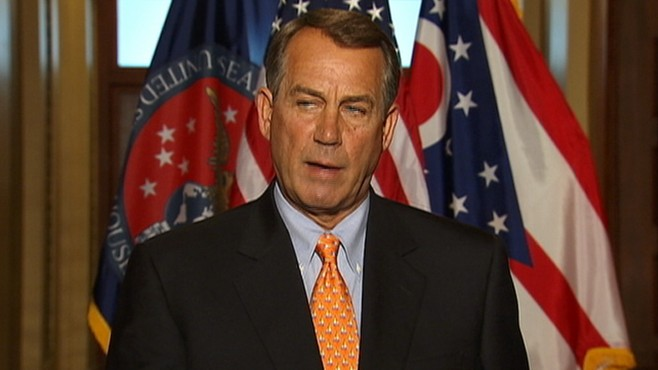 VIDEO: Boehner: Government Shutdown Not The Goal