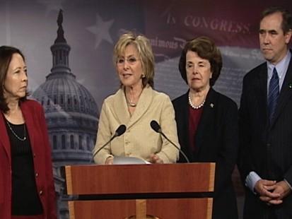 Video of California Democrats press conference on offshore drilling legislation.