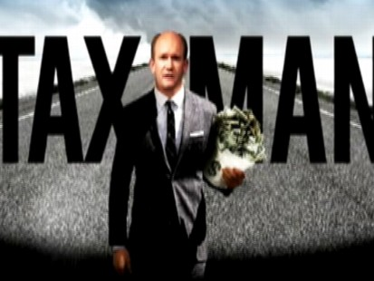 "Video: ODonnell Ad says opponent is ""The Tax Man."""
