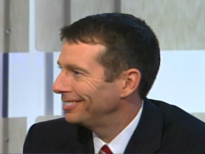 Video of Obama campaign manager David Plouffe on Top Line.