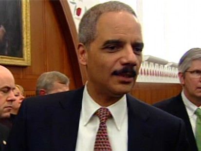 Video of Attorney General Eric Holder on Senator Harry Reid and race.