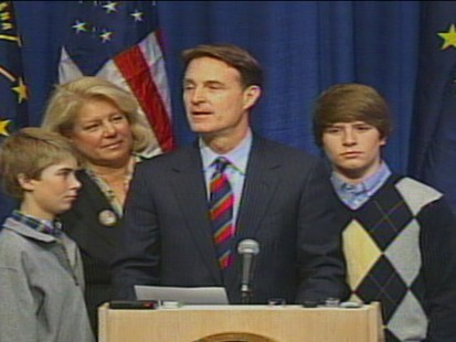 Video of Senator Evan Bayh on retiring from the Senate.