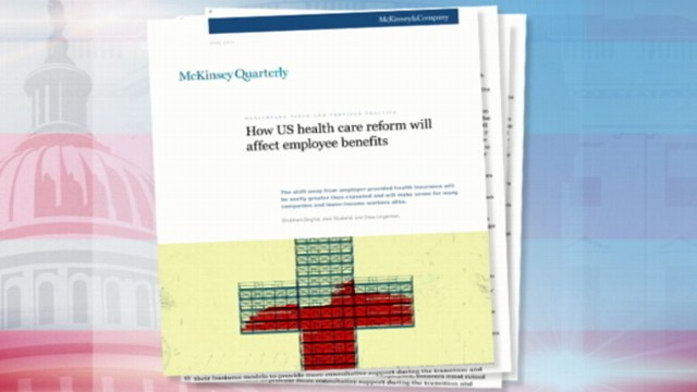 VIDEO: One Third of Employers May Drop Health Coverage