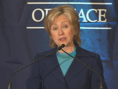 Video of Secretary Clinton on saying U.S. relations with a nuclear North Korea wont ever be normal.