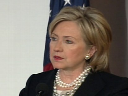 Video of Secretary Hillary Clinton saying immigration reform will be a 2010 priority.
