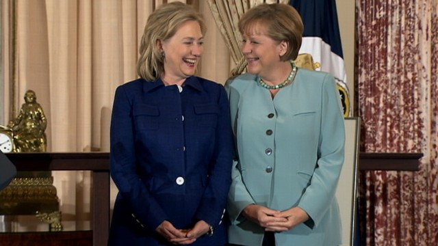VIDEO: Does Hillary Clinton Look Like Angela Merkel?