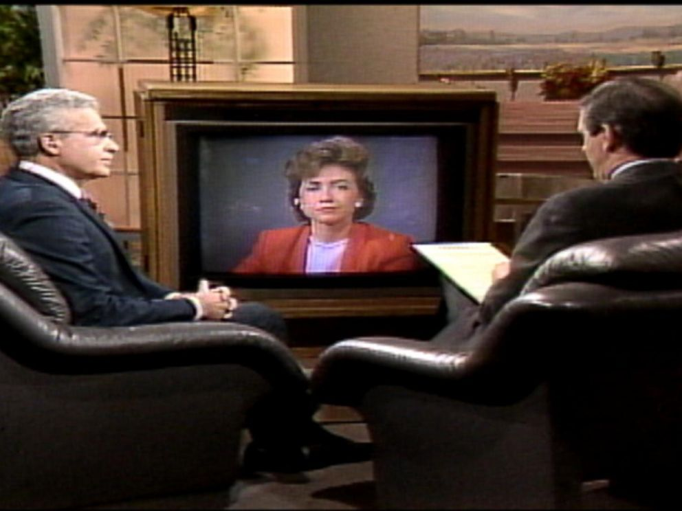 PHOTO:The first time Hillary Clinton appeared on Good Morning America was in 1988.