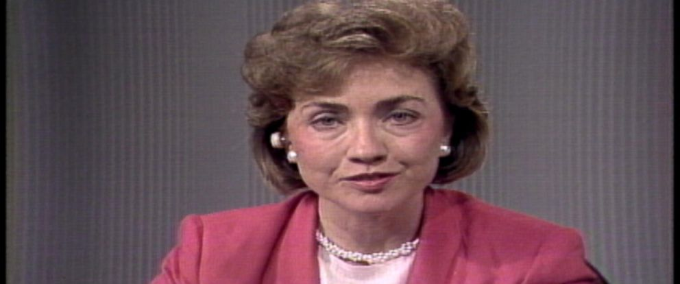 "PHOTO:Hillary Clinton is pictured the first time she appeared on ""Good Morning America"" in 1988."