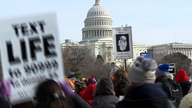VIDEO: March For Life Rally Activists Demand Tougher Laws