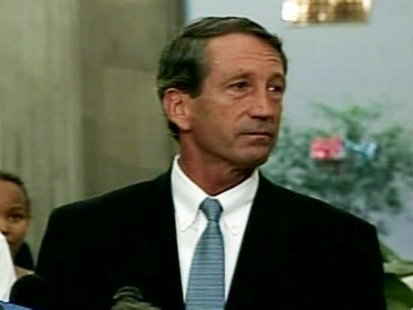 Video of S.C. Gov. Mark Sanford apologizing for marital affair.