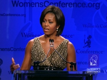 VIDEO: Michelle Obama: Military Families Are Heroes