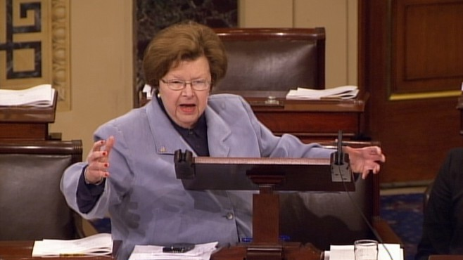 VIDEO: Barbara Mikulski on GOP: They Have No Ideas