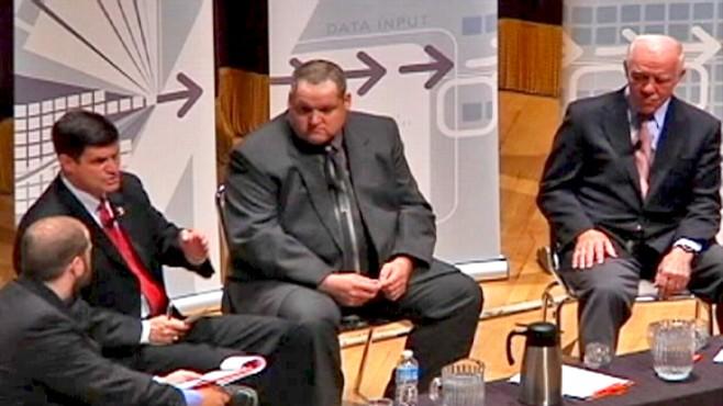Video of Minnesota congressional debate courtesy WDIO.