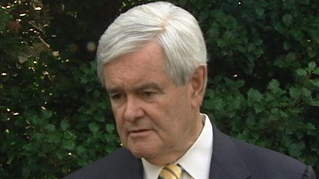 VIDEO: Newt Gingrich says, We'll find out over the next year who's right.