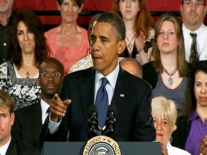 Video: President Barack Obama responds to Boehner ant analogy.