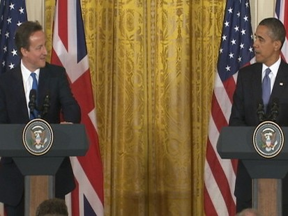 Video: Obama and Cameron discuss beer temperture preference.