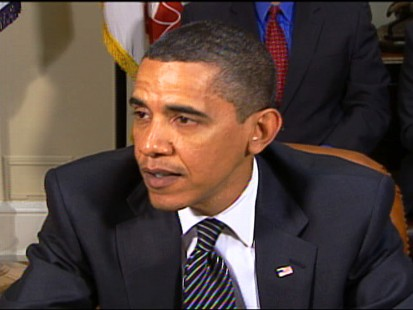 Video of Obama discussing employer health costs.