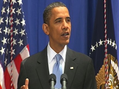 Video: President Obama signs Iran sanctions.