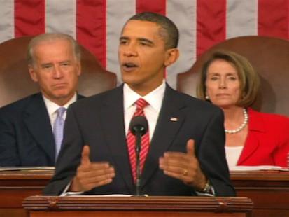 ABC News video of Obamas health care speech.