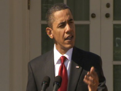 Video of President Obama urging Congress to vote for health reform.