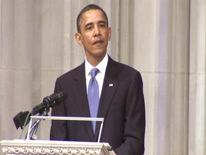 Video of President Barack Obama remarks at Dorothy Height service.