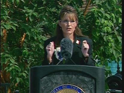 ABC News video of Sarah Palin