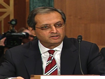 Video of Citigroup CEO Vikram Pandit thanking American taxpayers.