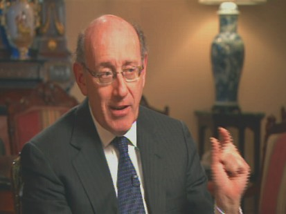 Video of Pay Czar Kevin Feinberg on pay cuts for top executives.