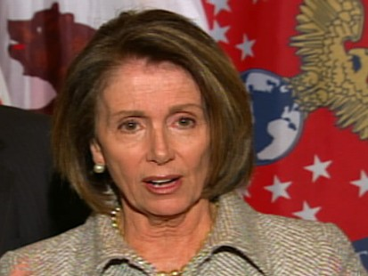 ABC News video of Nancy Pelosi Jan. 19, 2010 presser.