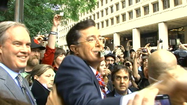 VIDEO: Stephen Colbert Addresses the Colbert Nation