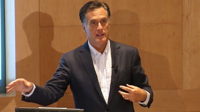 VIDEO: Mitt Romney: Obama Health Care Was a Power Grab