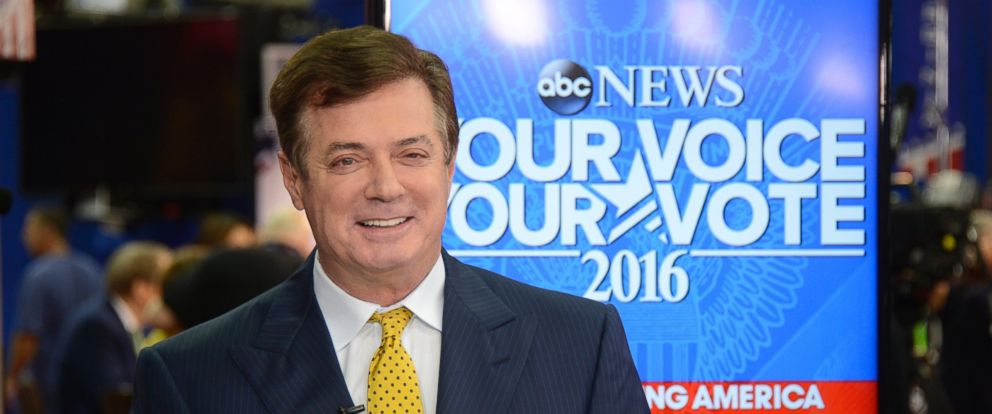 PHOTO: Paul Manafort covers the 2016 Republican National Convention from the Quicken Loans Arena in Cleveland, which airs on all ABC News programs and platforms, July 20, 2016.