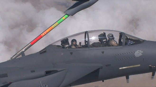 F -16 Eagle Refueling in Mid Air • 01 July 2020