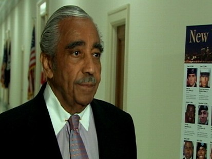 Video: Rangel talks to press about ethics meeting today.