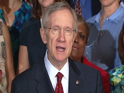 Video: Majority Leader Reid holds press conference on jobs.