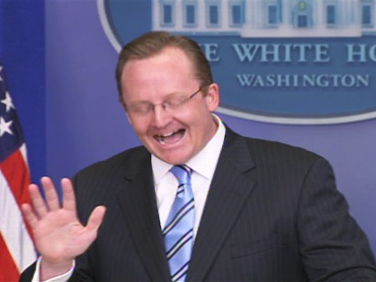 ABC News video of Robert Gibbs briefing.