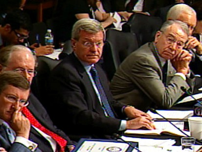 Video of the Senate Finance Committee debating the public option.